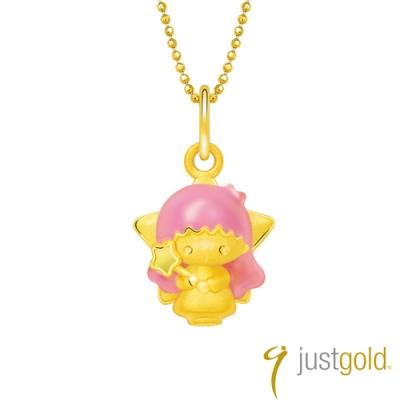 鎮金店Just Gold Lovely Memories純金系列 黃金墜子-Lala