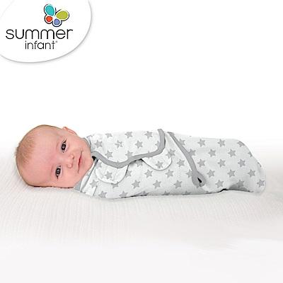 美國 Summer Infant 嬰兒包巾 懶人包巾薄款 -純棉S 浪漫星