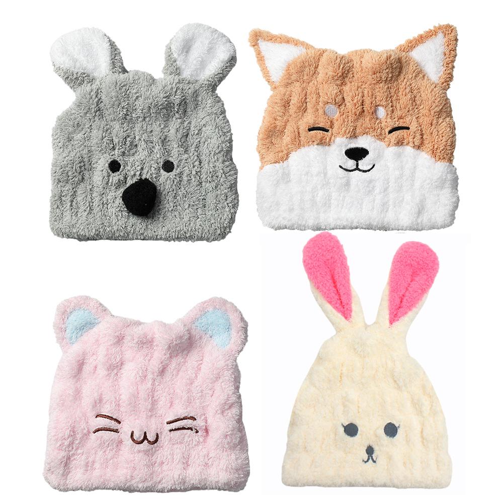 【MORINO】超細纖維造型速乾浴帽 (4款可選)