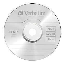 Verbatim 威寶 52X CD-R 光碟片 10片