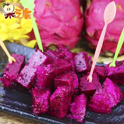 果之家 產地直送鮮甜甘美紅肉火龍果10台斤(約15-17顆入)