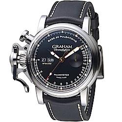 GRAHAM格林漢Pulsometer復古限量錶-2CVCS.B20A.L127S