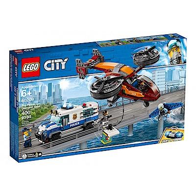 樂高LEGO 城市系列 - LT60209 航警鑽石搶刧戰