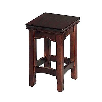 Bernice-泊鶴胡桃小椅凳/板凳-33x33x45cm