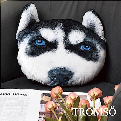 TROMSO 歡樂狗寶貝抱枕-C405藍眼哈士奇
