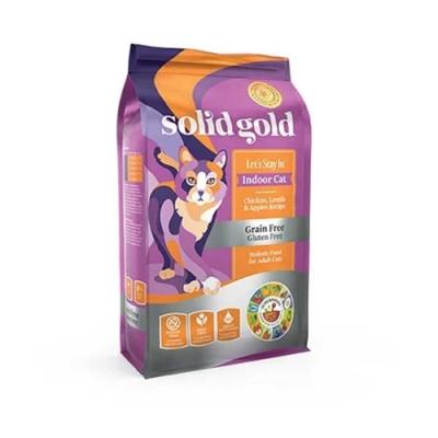 SolidGold速利高 室內化毛貓-雞肉3LB