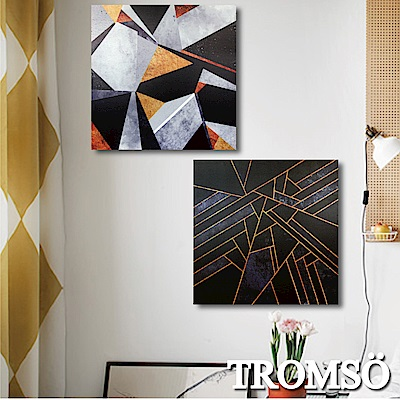 TROMSO 時尚無框畫-萬金黑鋼