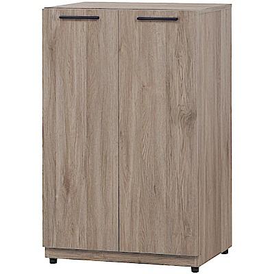 綠活居 多斯瑪時尚2尺二門鞋櫃/收納櫃-60x39x96cm免組