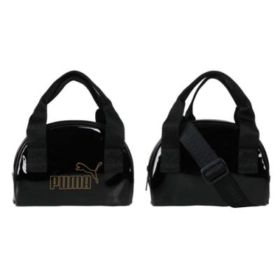 PUMA CORE UP迷你手提包-側背包 肩背包 手拿包 隨身包 07821601 黑金