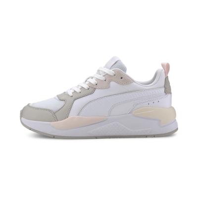PUMA-X-Ray Game 男女復古慢跑運動鞋-白色