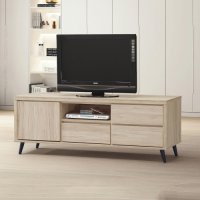 MUNA 寶雅橡木4尺電視櫃/長櫃(184-1) 121X39X45cm