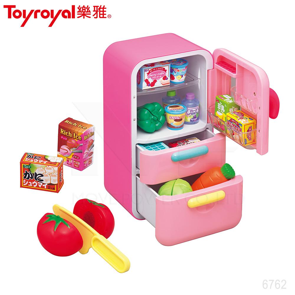 日本《樂雅 Toyroyal》生活小達人-冰箱組