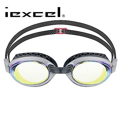 iexcel 蜂巢式電鍍專業光學度數泳鏡 VX-956