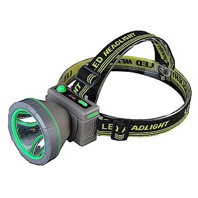 【WIDE VIEW】戶外遠射充電式XPE頭燈(NTL-D2-C)