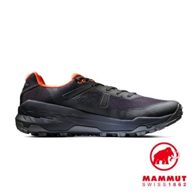 【Mammut 長毛象】Sertig II Low GTX Men GTX低筒健行鞋 黑色/鮮橙 男款 #3030-04280