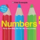Numbers-First Concepts 寶寶的第一套基礎認知翻翻書(英國版) product thumbnail 1