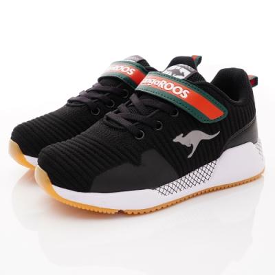 KangaROOS童鞋 EVO 90 輕量運動鞋 NI1230黑(中大童段)