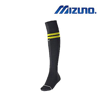 Mizuno 美津濃 少年足橄襪4入 黑黃 P2TX8A0294