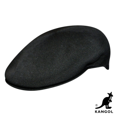 KANGOL-504 TROPIC 鴨舌帽 - 黑色