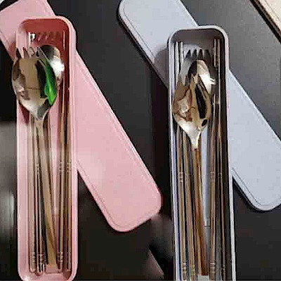 USAY 304不鏽鋼叉匙餐具組  兩組裝(多色任選)