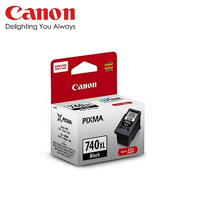 CANON PG-740XL 黑色高容量墨水匣