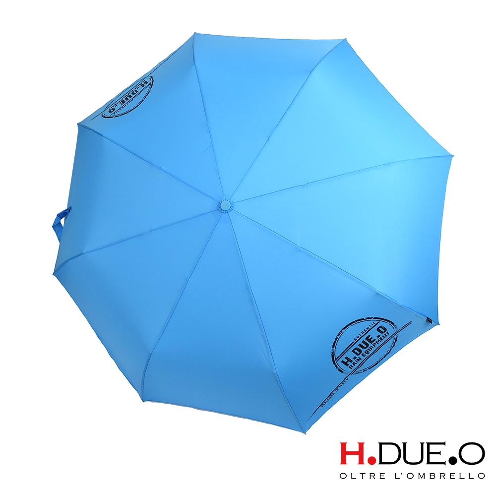 H.DUE.O 圖章抗UV三折手開傘