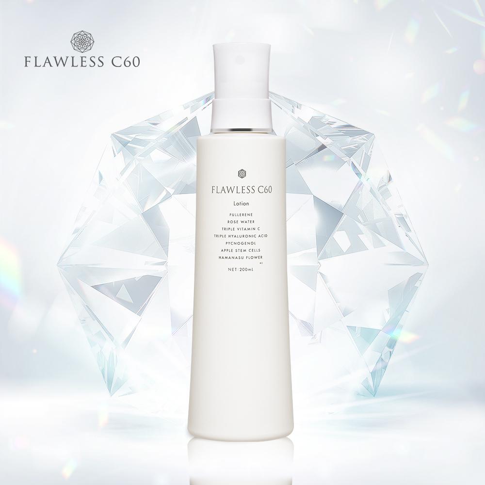 FLAWLESS C60 富勒烯鑽石光全效活膚水 200mL