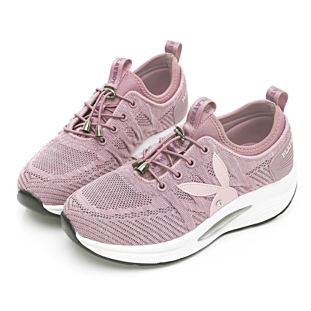 PLAYBOY 舒適動能 足弓氣墊休閒鞋-紫-Y6751AA