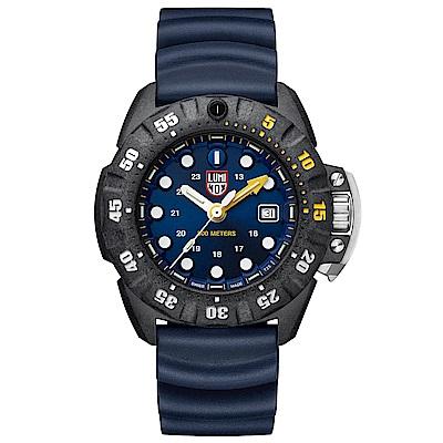 LUMINOX 雷明時Scott Cassell Deep Dive 專業深潛系列手錶-藍
