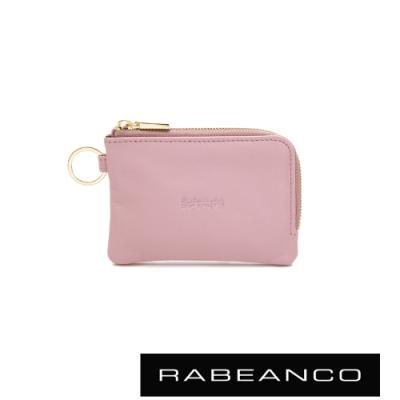 RABEANCO 迷時尚系列鑰匙零錢包 粉紅