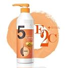 E2C美肌殿堂 蜂蜜‧蠶絲蛋白‧甜扁桃5號豐盈蓬鬆洗髮精600ml (啡洗不可系列)-快