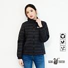 【遊遍天下】女款輕暖立領防風防潑水棉外套GJ22027黑色