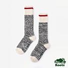 ROOTS配件- 溫馨佳節高筒襪 (女)-灰