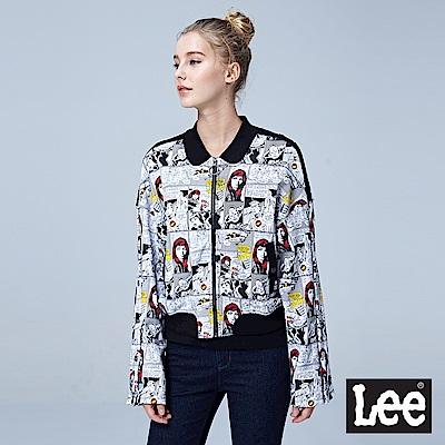 Lee X MARVEL 聯名印花休閒外套/MARVEL-黑色