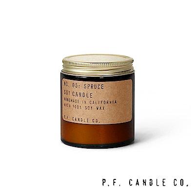 美國 P.F. Candles CO. No.05 雲杉 手工香氛蠟燭 99g