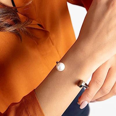 CALVIN KLEIN Bubbly 系列珍愛鋼色手環-XS