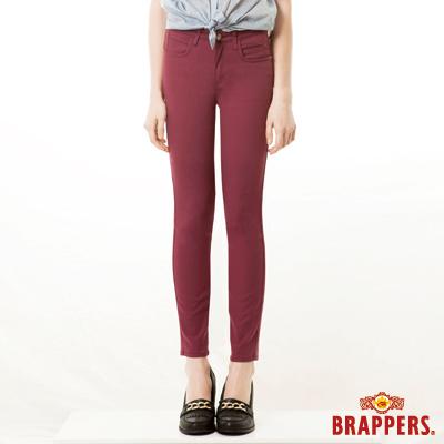BRAPPERS 女款 新美腳Royal系列-中腰彈性窄管褲-紫