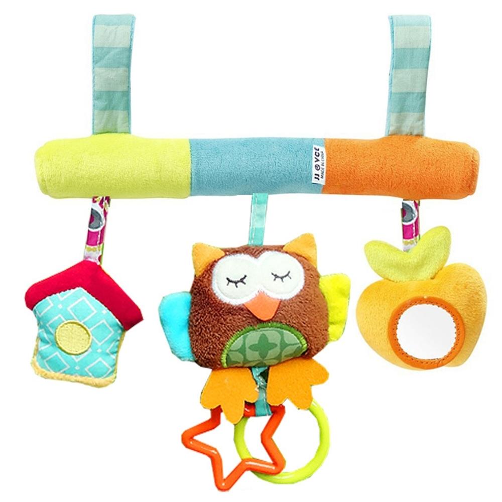 colorland 可愛動物嬰兒推車掛件玩具