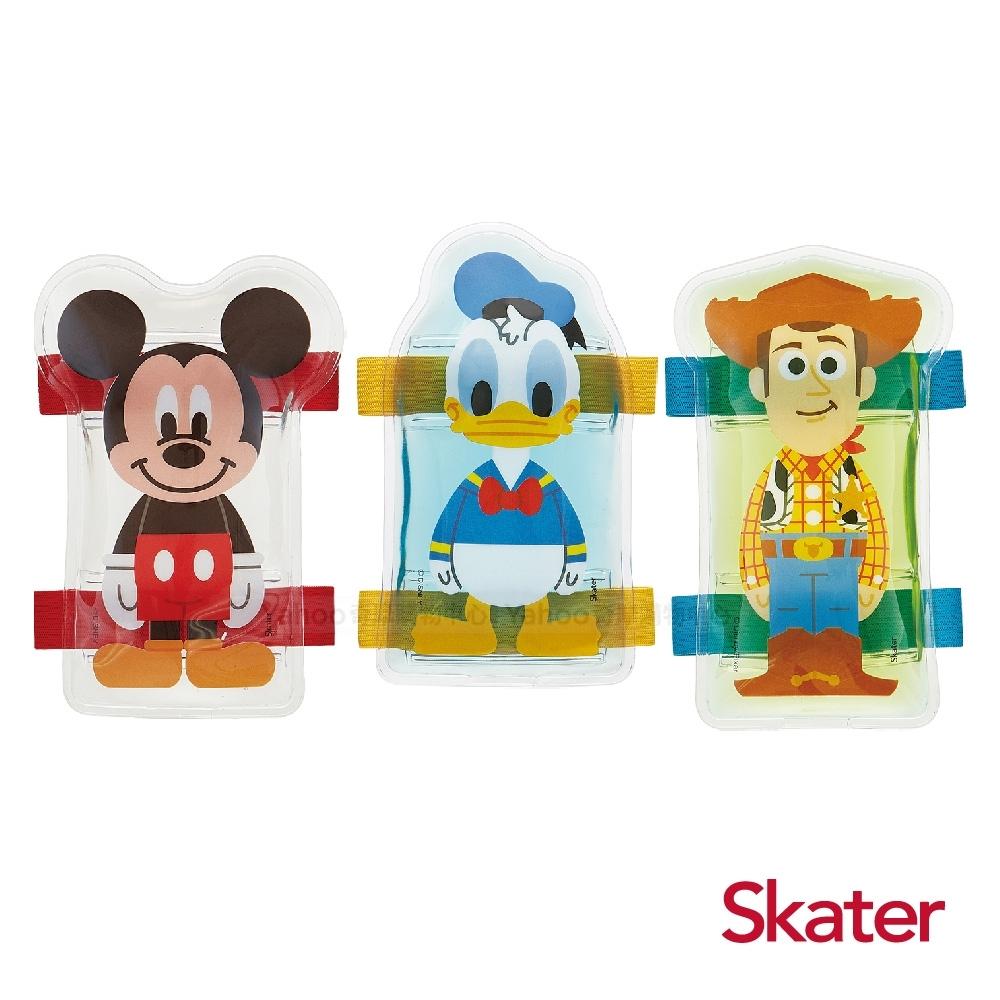 Skater造型保冰劑 3入組-米奇+唐老鴨+胡迪