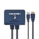 BOWU 2埠HDMI 4K2K KVM電腦切換器(HR021)