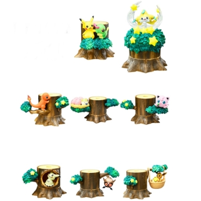 日本RE-MENT精靈寶可夢神奇寶貝森林組合P2全8種4521121204390