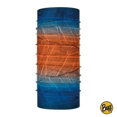 【西班牙BUFF】經典頭巾 Plus-藍橘對比