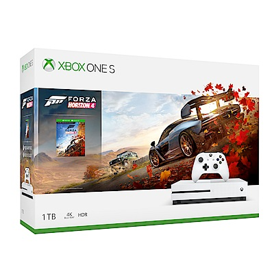Xbox One S 1TB極限競速:地平線4同捆組