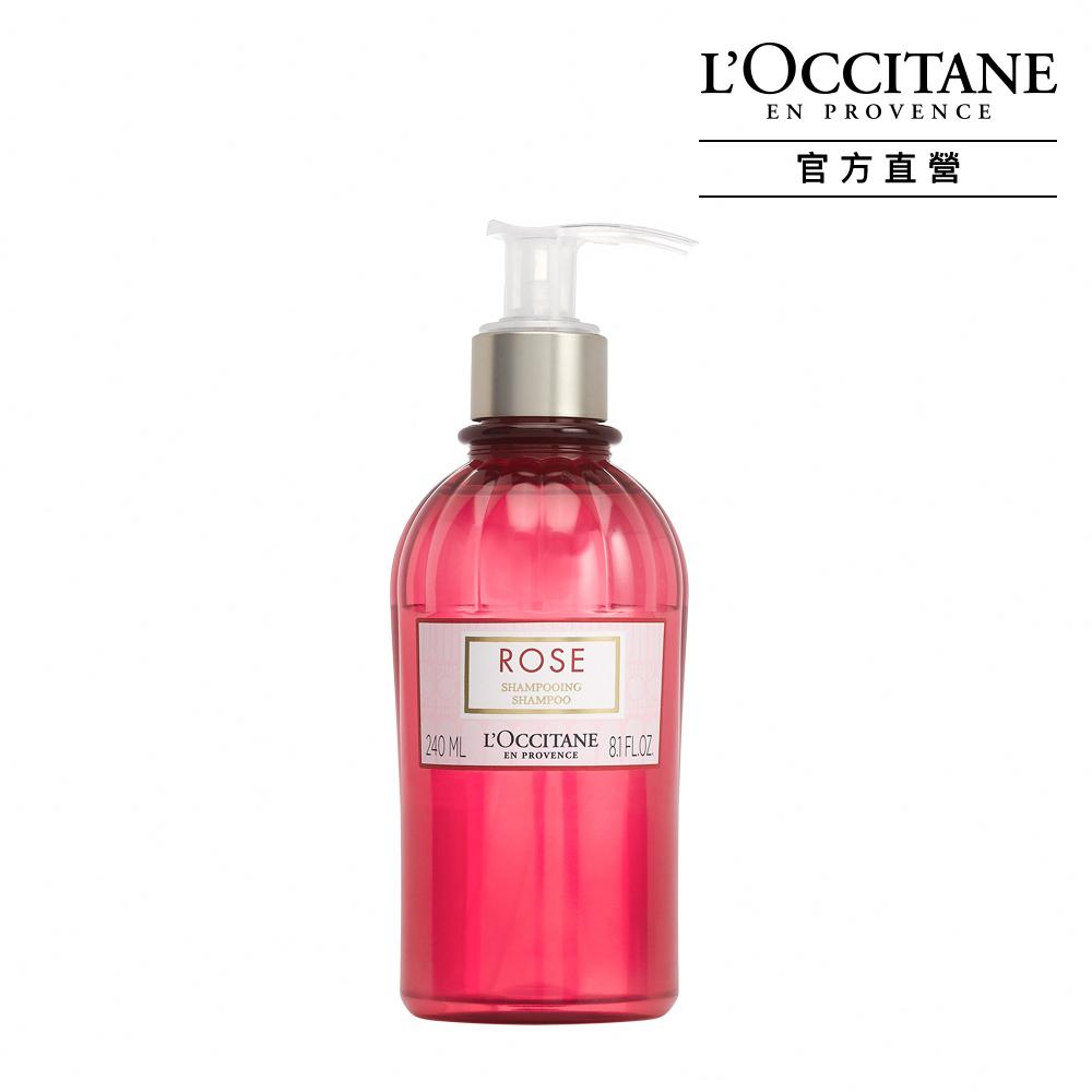 L'OCCITANE歐舒丹 玫瑰花園洗髮乳240ml