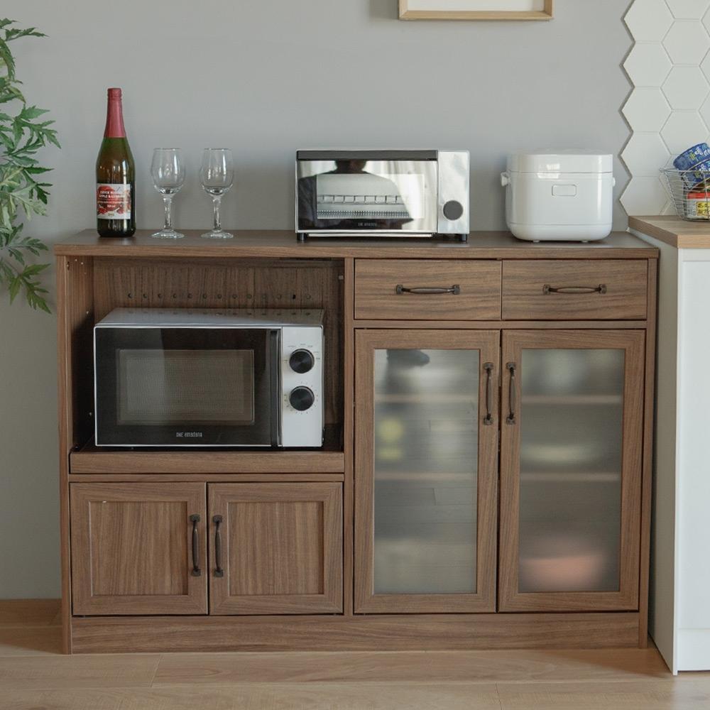 完美主義 四門三抽廚房櫃/餐櫃/電器櫃/餐廚櫃(2色) product image 1