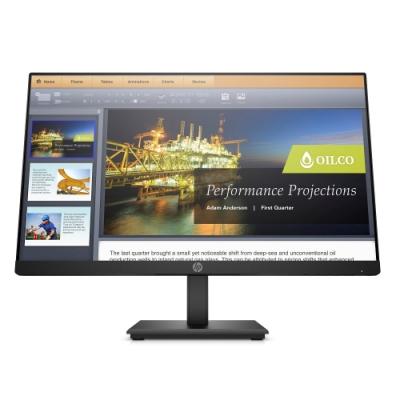 HP P224 21.5吋 VA 防眩光電腦螢幕