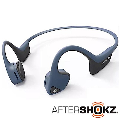 AFTERSHOKZ Trekz Air AS650骨傳導藍牙運動耳機(午夜藍)