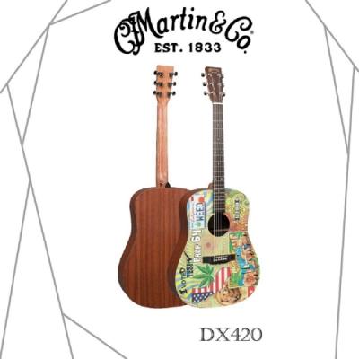 Martin DX240木吉他/藝術家聯名款