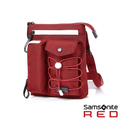 Samsonite RED MIRRE 時尚造型肩背包(紅)