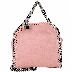 Stella McCartney Falabella Tiny 迷你兩用鍊帶包(玫瑰粉)